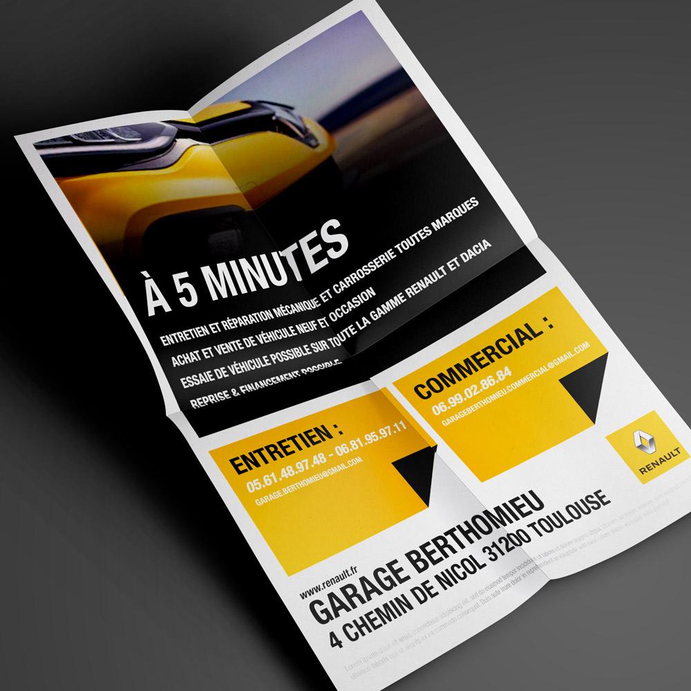 Proposition de flyer pour Renault