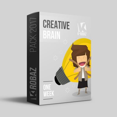 Illustration K-ROBAZ box pack semaine
