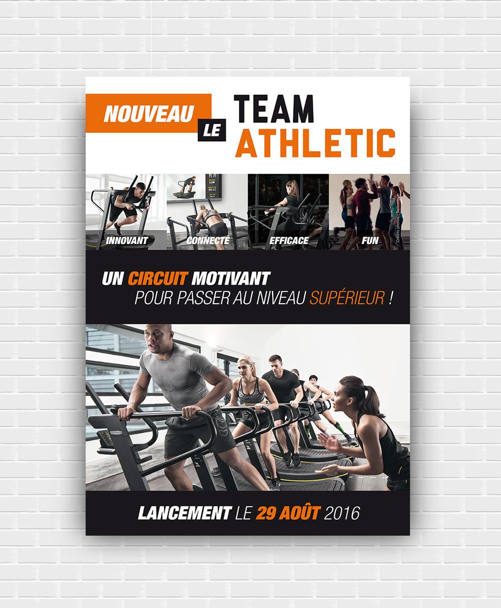 Affiche Sporting Form' : lancement du Team Athletic