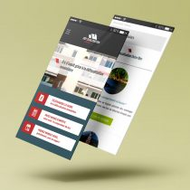 Webdesign (responsive) du site internet Defiscalisation.immo
