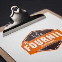 Mockup logo Le Fournil du Sporting