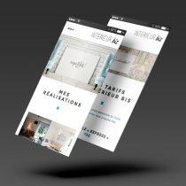 Mockup écrans responsive site internet Intérieur Bis
