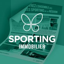 Mockup logo Sporting Immobilier