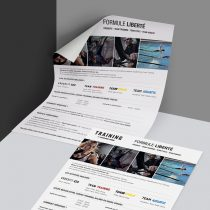 Mockup flyer formule Training Sporting Form'
