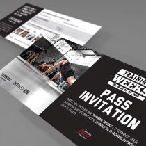 Mockup pass invitation formule Training Weeks Sporting Form'