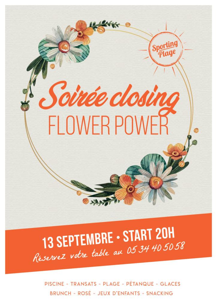 "Affiche soirée ""Closing"" V2"